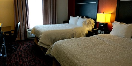 Hampton Inn and Suites Tulsa Hills: Traveling with other individuals or solo, we can accommodate.