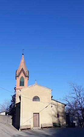 Oratorio di San Rocco: la semplice facciata