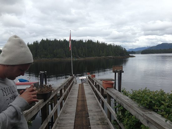 Shearwater, Canada: View from the dock