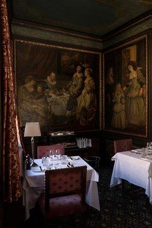 Downstairs restaurant.