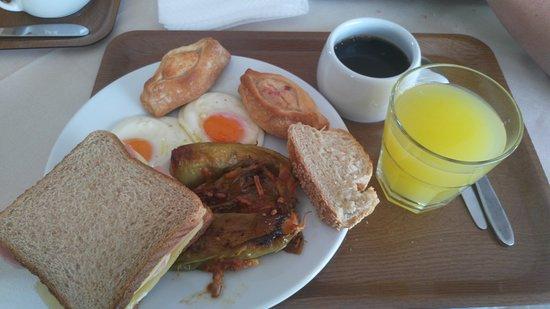 Lygia, Grecia: Πρωινό