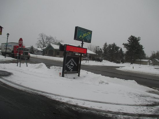 North Branch, MN: Outside Sign on Main Street