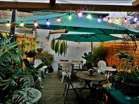 Rear Garden Picture Of The Thai Garden Cafe London Tripadvisor
