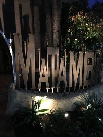 Hotel Village Matamba : Hoteleingang