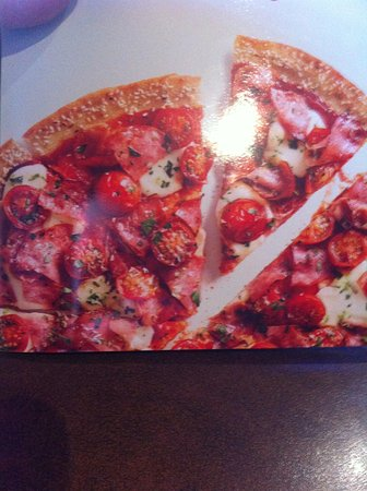 Fort Saskatchewan, Canada: What it looked like on the menu.