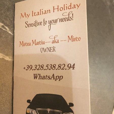 My Italian Holiday