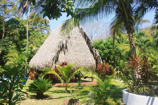 Los Santos Province, بنما: Garden view to the Rancho