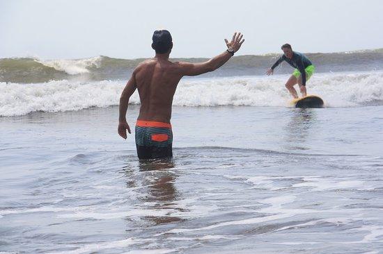 Los Santos Province, بنما: Surf lesson