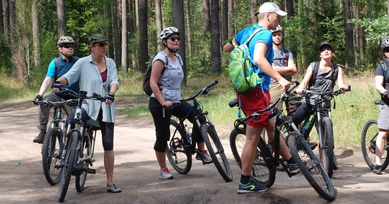 Gdansk Bike Tours: With the group is fun and interesting.