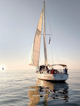 Sailing South Haven: Glassy Water.