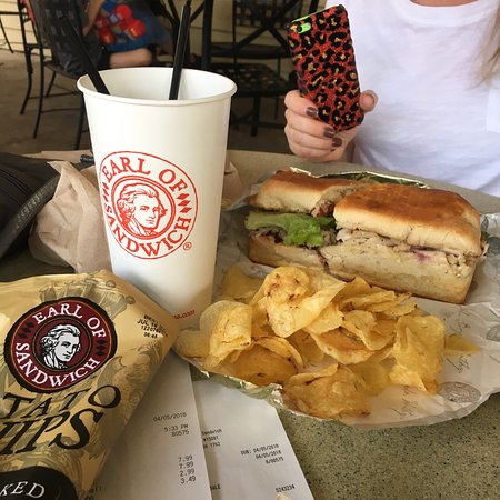 Favorite Earl of Sandwich All American and the Earl Club