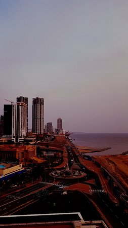 Western Province, Sri Lanka: Colombo city in the evening