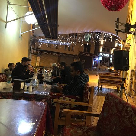Great meal great service Best sisha