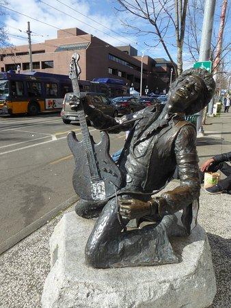 Jimi Hendrix Statue