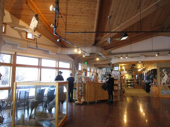 Gibbon, NE: Rowe Sanctuary Visitors Center