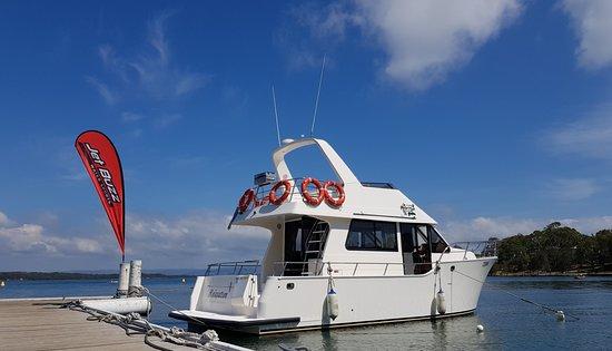 "Cams Wharf, Australia: ""Relaxation"" Custom cruiser for hire or charter"