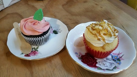 Cup and Cake Photo