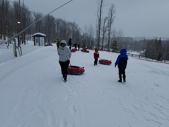 Clymer, Estado de Nueva York: Family Snow Tubing
