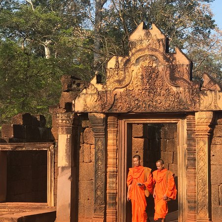 Guia Espanol En Angkor Camboya