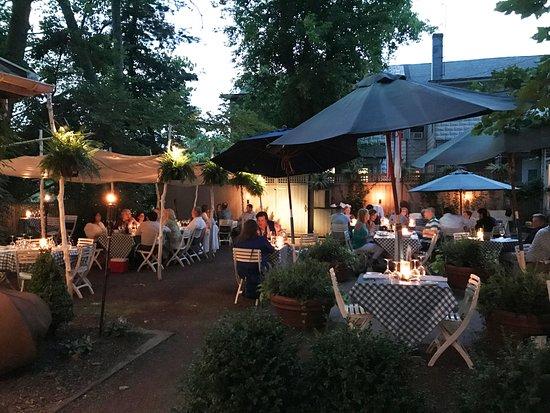 Lambertville, NJ: Garden Courtyard