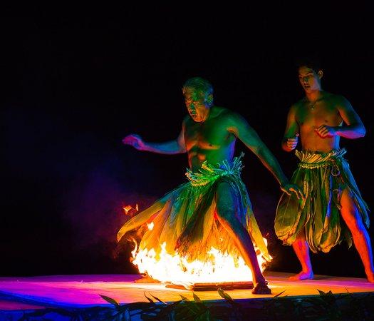 Ahi Lele Luau Fire Show