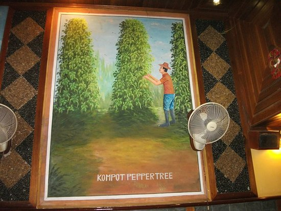 Pepper Tree: Painting on the wall