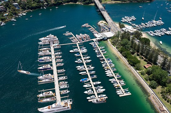Mosman, Australien: The beautiful d'Albora Marinas The Spit.