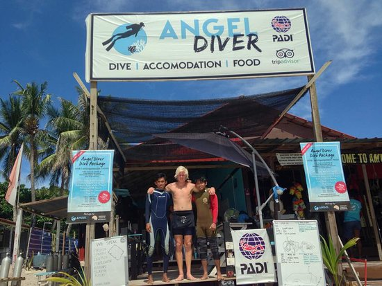 Pulau Perhentian Kecil, Malaysia: We are Angel Diver