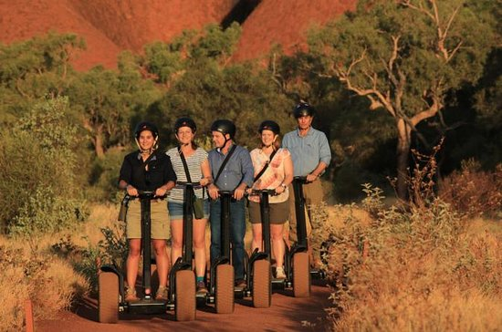 Ayers Rock (Uluru) Sunrise and Segway