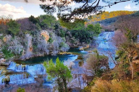 国立公園Krkaの滝