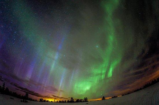 Northern Lights Snowmobile Sleigh