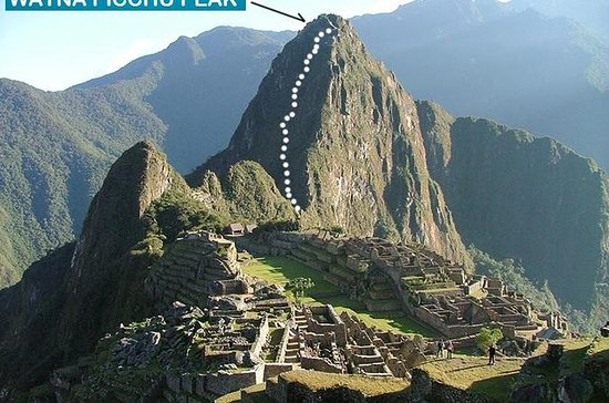 Machupicchu avec Huayna Picchu en...