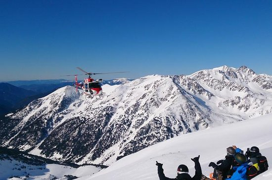 Heli-Skiing in Andorra