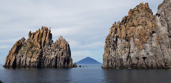 Well organised tour to Stromboli and Panarea