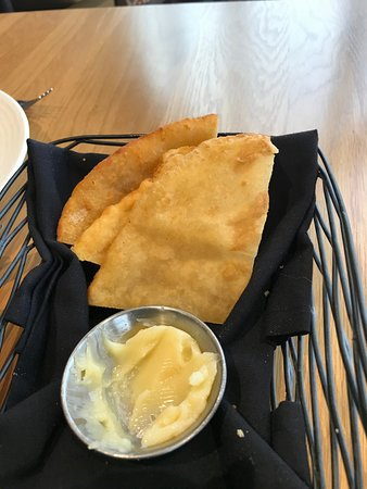 Peach Springs, AZ: Fry bread