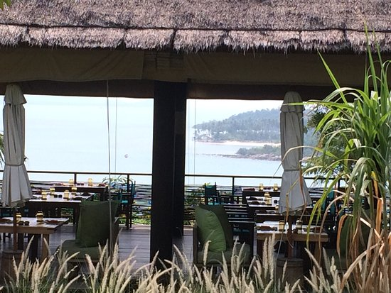 Six Senses Samui: Main restaurant/breakfast