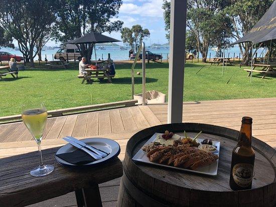 Isola Waiheke, Nuova Zelanda: Lunch