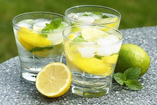 Lemon lime mint soda.
