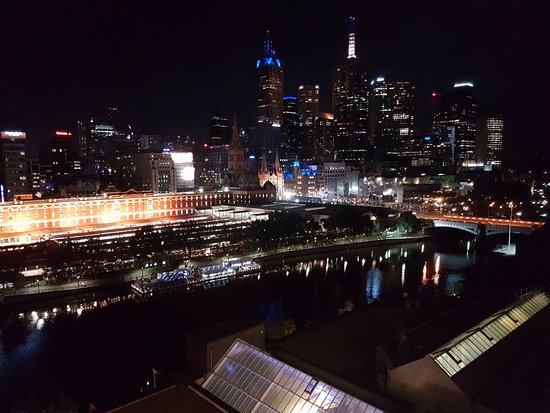 view at night, probably worth the extra cost