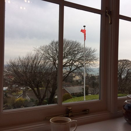 Woodbrae Bed & Breakfast: The views are lovely