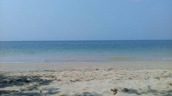 Quiet little beach