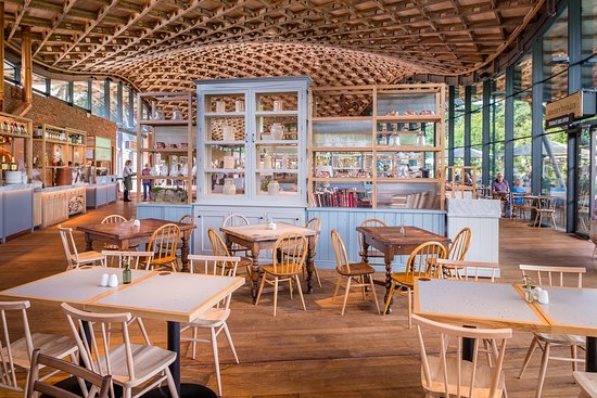 Refurbished restaurant - Review of The Savill Garden Kitchen ...