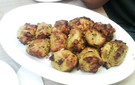 Aminia: Chicken Achari Kebabs