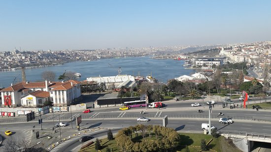 Art Nouveau Pera: View of the Golden Horn from the room