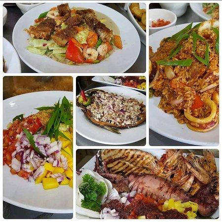 Santa Maria, Philippinen: Chopseuy Macao, Seafood Paella, Sinugba, Bagoong Rice, Bangus Sisig