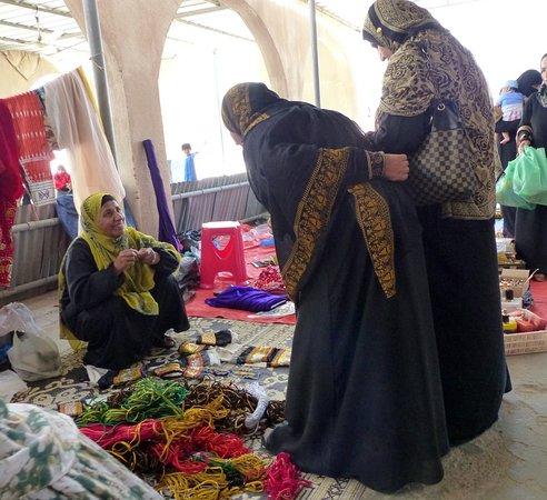 Ibra, Oman: Markt von Frauen für Frauen.