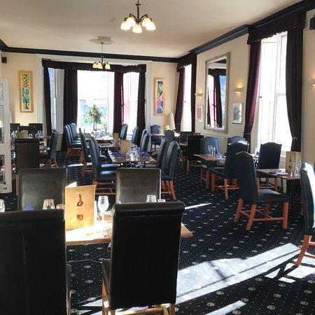 Knighton, UK: The hotel is wonderful with nice views