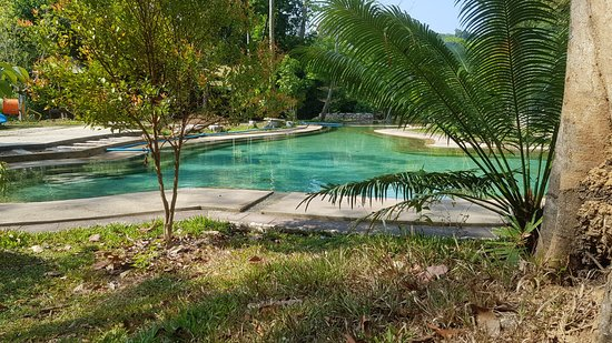 Khlong Thom, Thailand: One of the hot spring pool