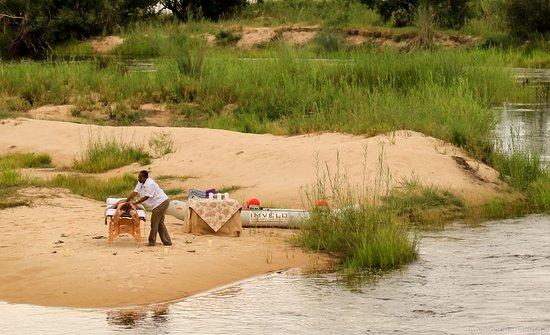 Zambezi National Park, Zimbabwe: Popup Spa treatments available on request
