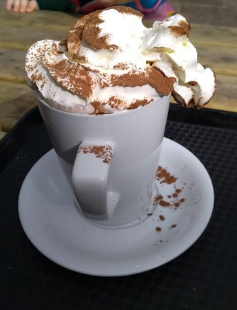 ‪‪Dyrham‬, UK: The offending hot chocolate!‬